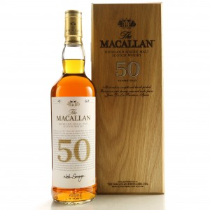 Macallan 50 Year Old 2018 Release