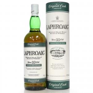 Laphroaig 10 Year Old Original Cask Strength 1 Litre / 57.3%
