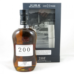 Isle of Jura 21 Year Old (Signed) front