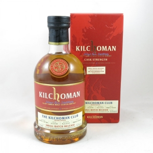 Kilchoman Club Single Cask Bottling 2013 front