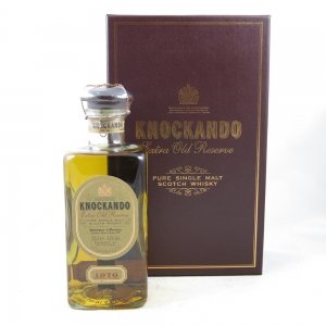 Knockando 1970 Extra Old Reserve front