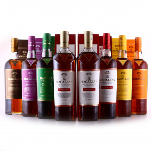 Macallan Edition No.1-5 Collection & Classic Cut 2017-2019 8 x 75cl / US Imports