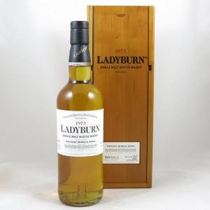Ladyburn 1973 27 Year Old Single Cask 1591 front