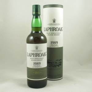 Laphroaig 1989 23 Year Old Front