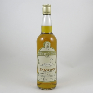 Linkwood 12 Year Old Manager's Dram 1999 front