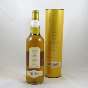 Littlemill 12 Year Old Front