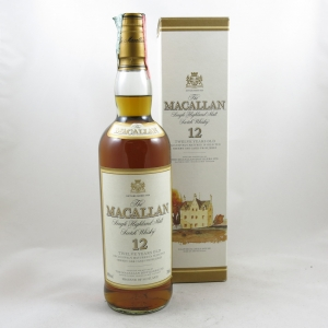 Macallan 12 Year Old 1990s Front