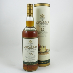 Macallan 1984 15 Year Old front