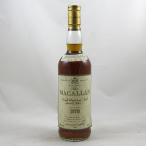 Macallan 1970 18 Year Old Front