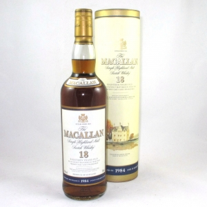 Macallan 1984 18 Year Old Front