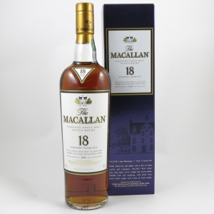 Macallan 18 Year Old 1993 front