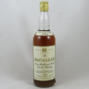 Macallan 1963 Front