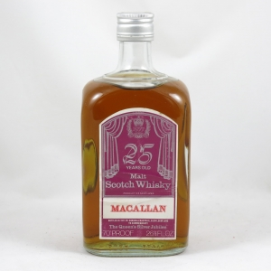 Macallan 25 Year Old Gordon and Macphail Silver Jubilee front