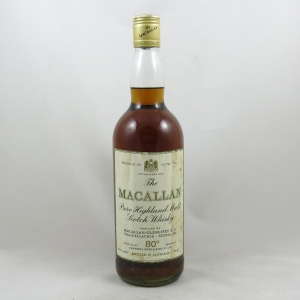 Macallan 80 Proof 1970s Front