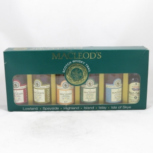 Macleod Gift Pack 6 x 5cl Front