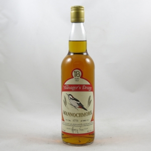 Mannochmore 18 Year Old Manager's Dram 1997 front