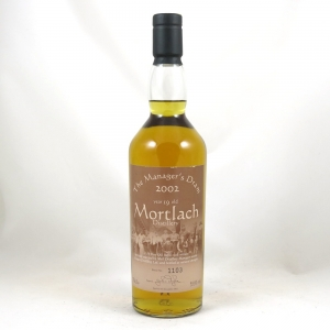 Mortlach 19 Year Old Manager's Dram 2002 front