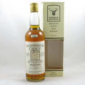 Mosstowie 1975 Gordon and Macphail 19 Year Old front