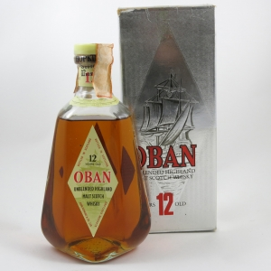 Oban 12 Year Old 75cl front