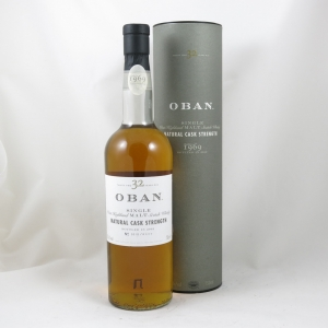 Oban 1969 32 Year Old front