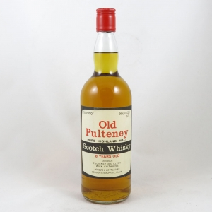 Old Pulteney 8 Year Old 1970s front