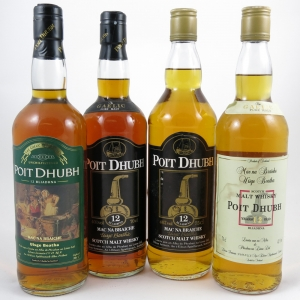 Poit Dhubh 12 Year Old Selection 4 x 70cl front