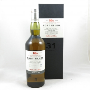 Port Ellen 1978 10th Release 31 Year Old front