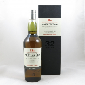 Port Ellen 1978 32 Year Old 11th Release Front