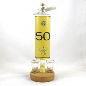 Ranger's 50 League Wins Commemorative Bottle Front