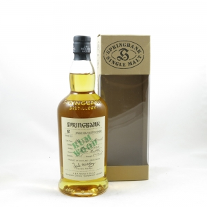 Springbank 1989 12 Year Old Rum Wood front