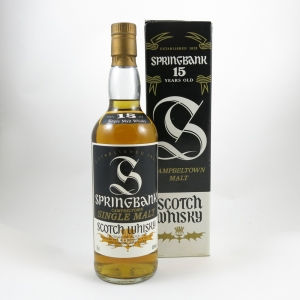 Springbank 15 Year Old 1980s front