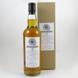 Springbank 1997 Madeira Finish 15 Year Old front