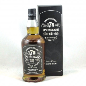 Springbank 175th Anniversary Front