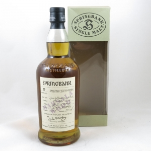 Springbank 1996 9 Year Old Marsala Wood front