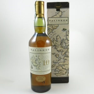 Talisker 10 Year Old Map Label (Old Style) front