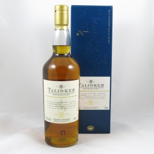 Talisker 18 Year Old front