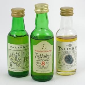 Talisker Miniature Selection front
