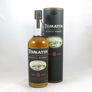 Tomatin 10 Year Old 1980s Front