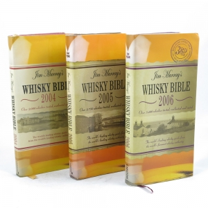Jim Murray Whisky Bible 1st, 2nd and 3rd Editions (2004, 2005 and 2006)