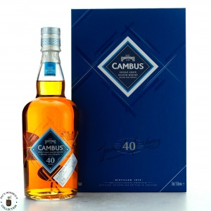 Cambus 1975 Cask Strength 40 Year Old