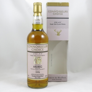 Ardbeg 1976 Gordon and Macphail 27 Year Old front