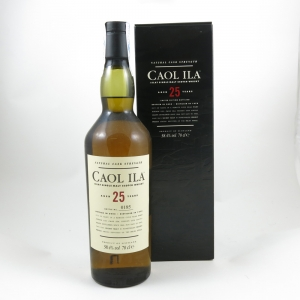 Caol Ila 1979 Cask Strength 25 Year Old (2005 Release) Front