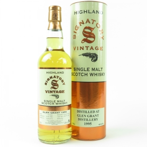 Glen Grant 1995 Signatory Vintage 19 Year Old