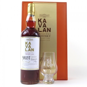 Kavalan Solist Brandy Cask / Including Glass