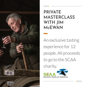 Private Masterclass with Jim McEwan for Twelve Guests / Charity Lot