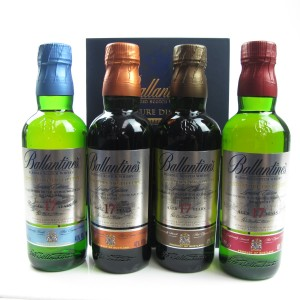 Ballantine's Signature Distillery Collection 17 Year Old 4 x 20cl