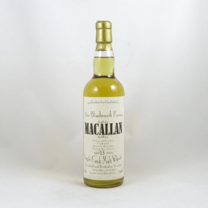 Macallan 1989 Bladnoch Forum Bottling 15 Year Old front