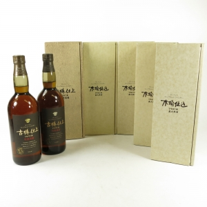 Hakushu 1981 and 1991 Kioke Shiome 7 x 75cl