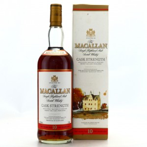 Macallan 10 Year Old Cask Strength 1 Litre early 2000s / 58.5%