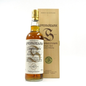 Springbank 40 Year Old Millennium Limited Edition